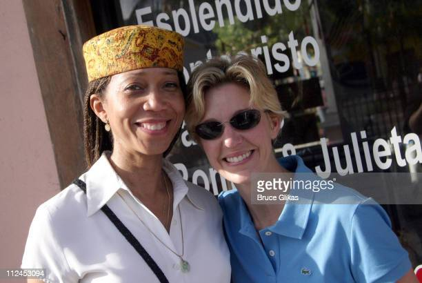 Attila Shabazz Malcolm X's daughter and Kelli O'Donnell R Family Vacations coowner