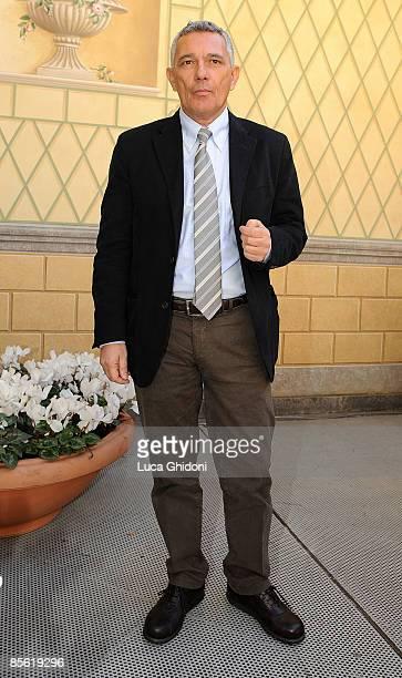 Attilio Bolzoni attends the 2008 E' Giornalismo award on March 26 2009 in Milan Italy Attilio Bolzoni of 'la Repubblica' newspaper won this years...