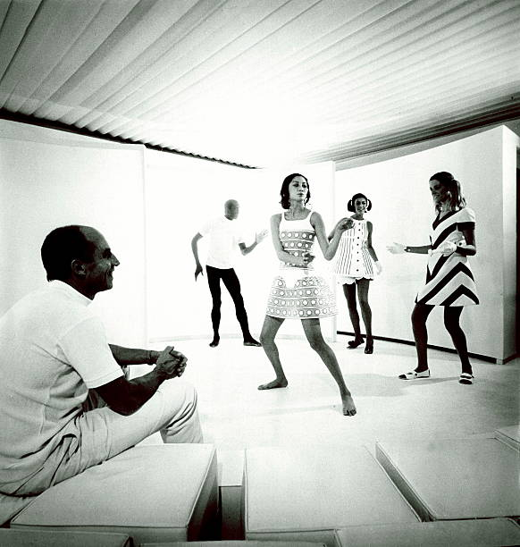 The 1968 Collection Of Andre Courreges