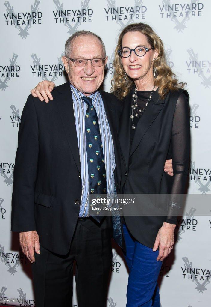Alan Dershowitz with intelligent, Wife Carolyn Cohen