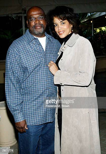 Attorney Christopher Darden and his wife Marcia attend the First Annual City Hearts High Tea and Fashion Showcase at the Four Seasons Hotel on...
