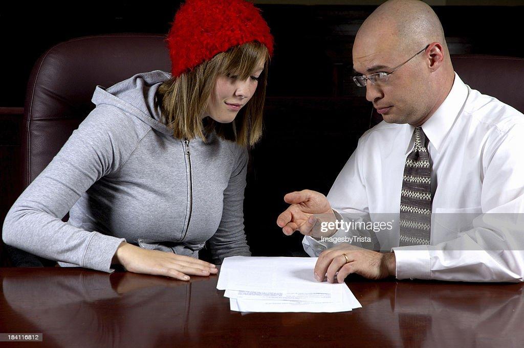Privilegios de abogado del cliente : Foto de stock