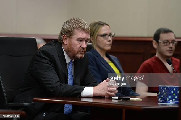 Attorney Daniel King sits in the courtroom as James Holmes appears in court to be formally sentenced The formal sentencing concluded on Wednesday at...