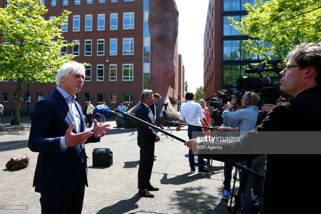Attorney Dolf Segaar Seen During The Court Case Of Sc Cambuur And De News Photo Getty Images