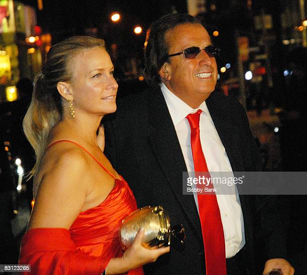 Attorney Dominic Barbara and guest attend the wedding of Howard Stern and Beth Ostrosky at Le Cirque on October 3 2008 in New York City