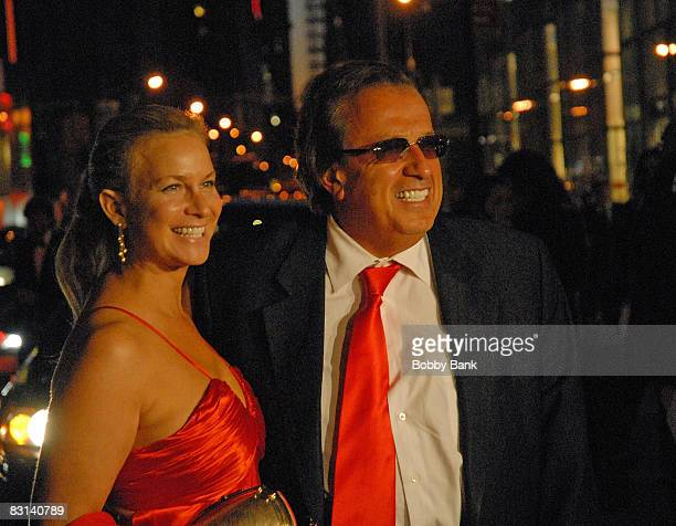 Attorney Dominic Barbara and guest attends the wedding of Howard Stern and Beth Ostrosky at Le Cirque on October 3 2008 in New York City