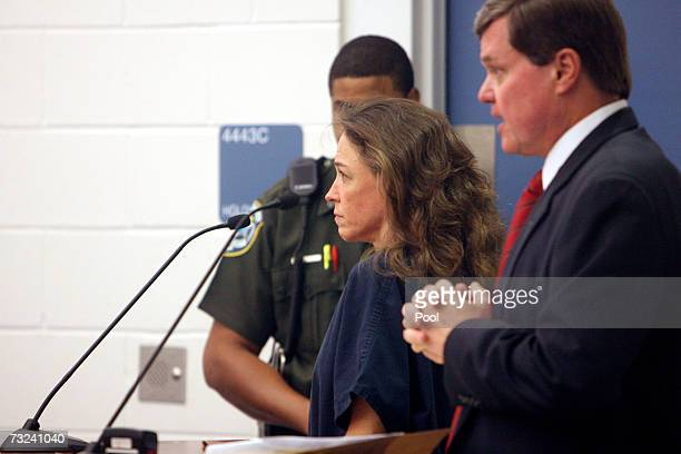 Attorney Donald Lykkebak appears before judge Mike Murphy on behalf of his client astronaut Lisa Nowak who was arrested on attempted kidnapping and...