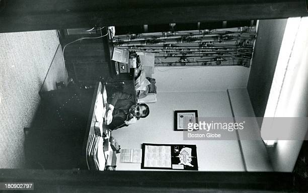 Attorney F Lee Bailey who represents Albert DeSalvo the selfconfessed Boston Strangler during a press conference Nov 6 1967