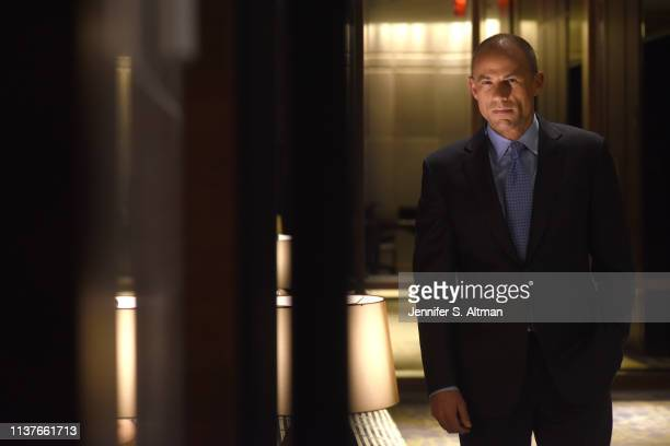 Attorney for Stormy Daniels Michael Avenatti is photographed for Washington Post on March 22 2018 at the Park Hyatt Hotel in New York City