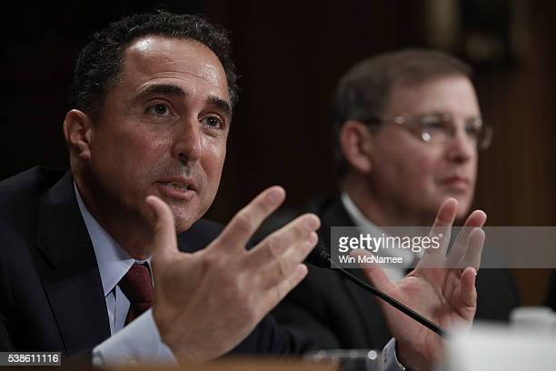S Attorney for the Northern District of New York Richard Hartunian testifies before the Senate Homeland Security and Governmental Affairs Committee...