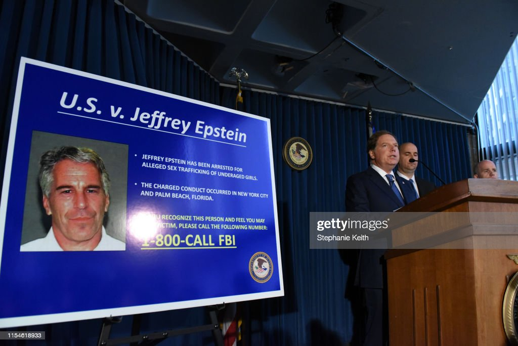 Jeffrey Epstein Appears In Manhattan Federal Court On Sex Trafficking Charges : News Photo
