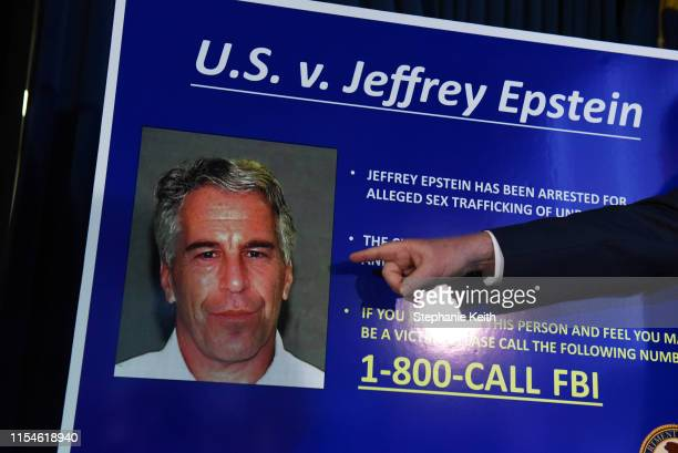 Attorney for the Southern District of New York Geoffrey Berman announces charges against Jeffery Epstein on July 8 2019 in New York City Epstein will...