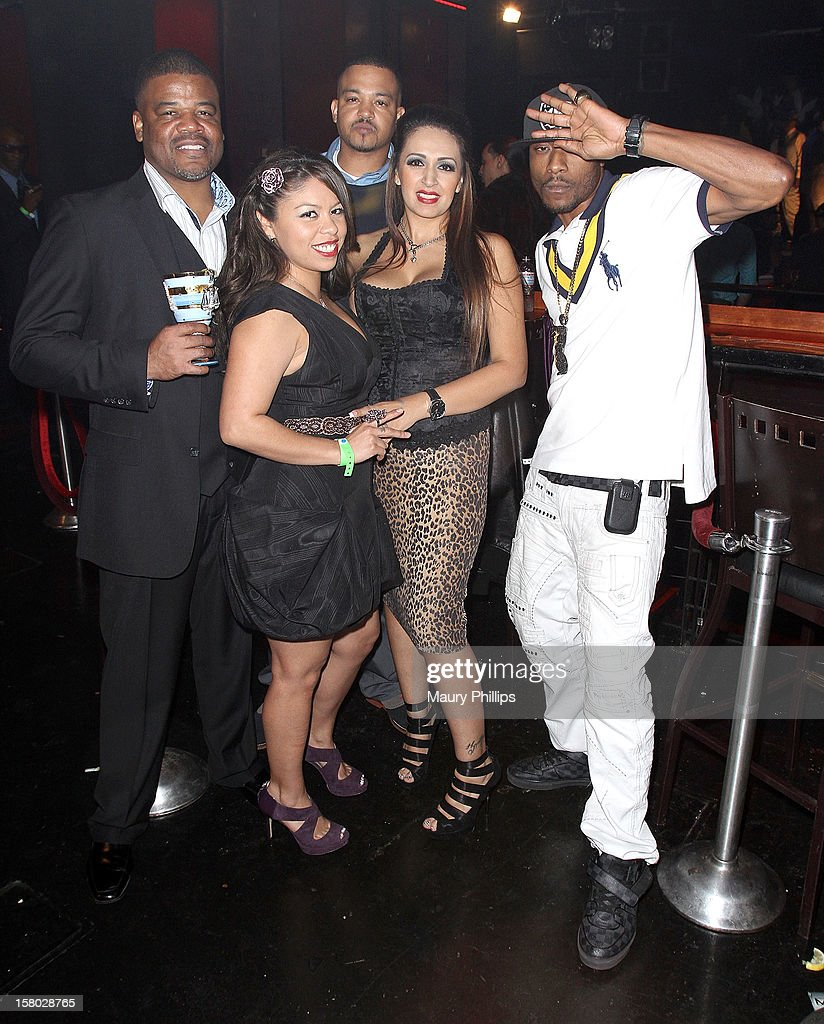 Attorney Fred Dorton and Flii Stylz artist developer/choreogarpher (R) attend The Official International Players Ball 2012 and birthday celebration for Arch Bishop Don Magic Juan at Key Club on December 8, 2012 in West Hollywood, California.