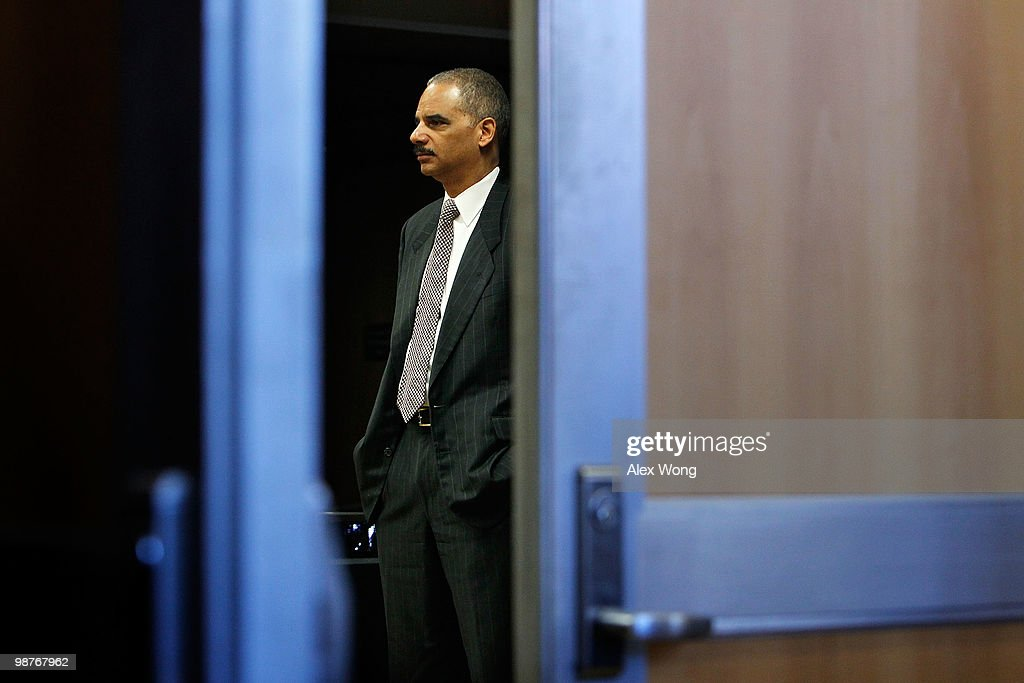 Holder Hosts Quintet Meeting Of Atty Generals From Allied Nations : News Photo