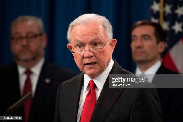 Attorney General Jeff Sessions announces the creation of a new initiative to crack down on Chinese intelligence officials pilfering intellectual...