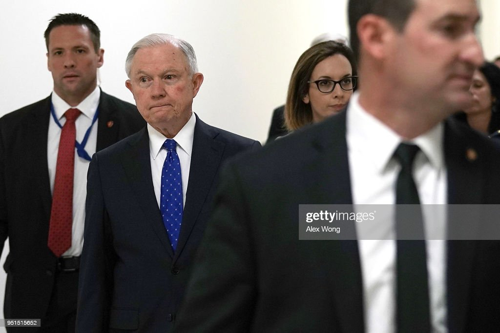AG Jeff Sessions Testifies At House Hearing FY2019 Budget