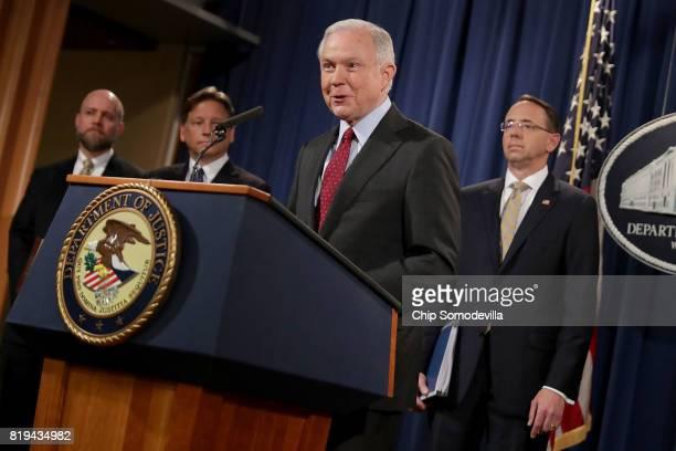 Deputy Attorney General Rod Rosenstein Holds News ...