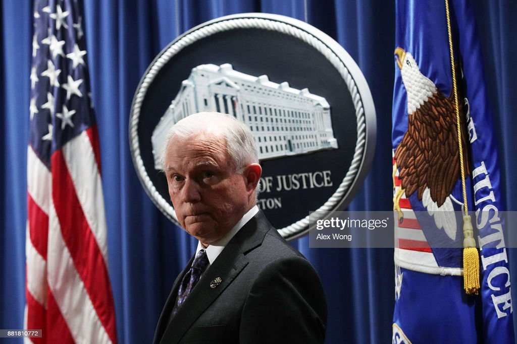 Attorney General Jeff Sessions And Acting DEA Administrator Robert W. Patterson Announce New Efforts Against Opioid Crisis
