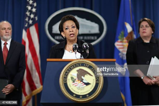 S Attorney General Loretta Lynch announces a resolution has been reached with global financial institutions in connection with longrunning...