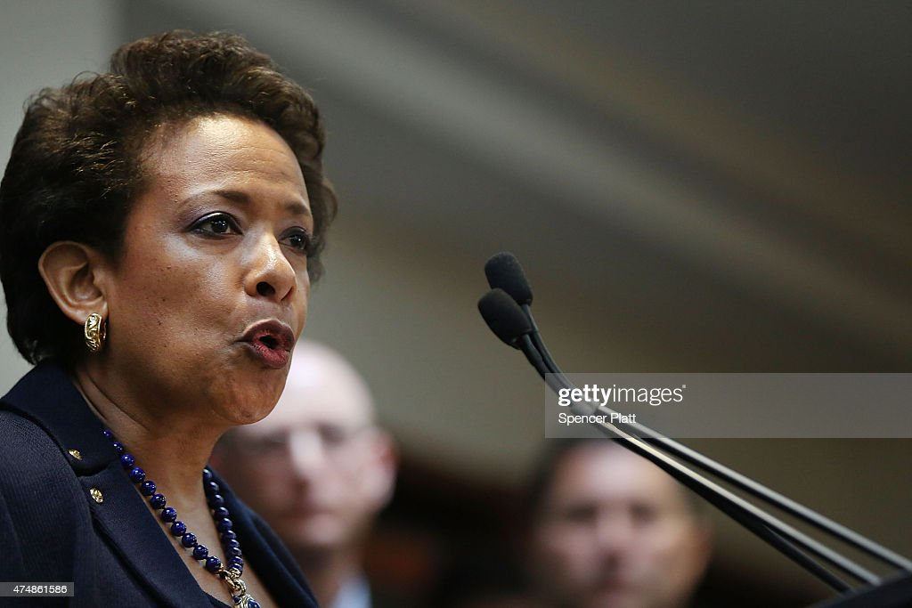 Attorney General Lynch And FBI Director Comey Announce Indictment Of FIFA Officials