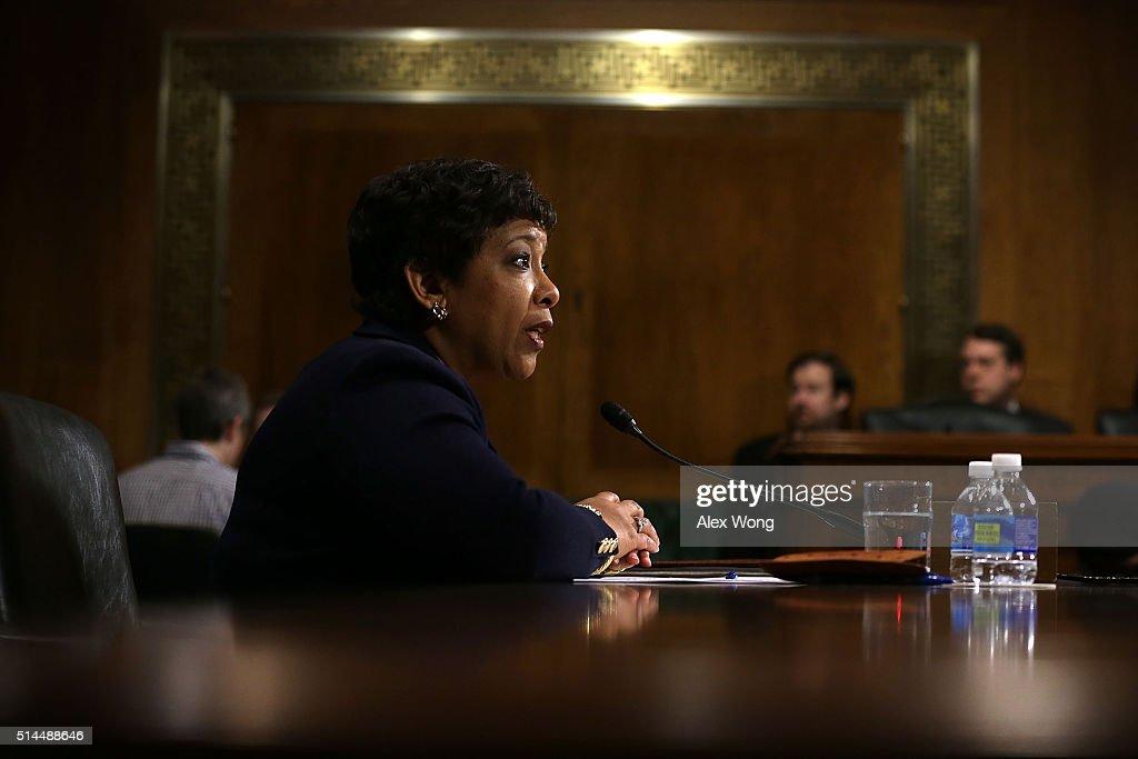 Attorney General Loretta Lynch Testifies On Justice Department Oversight