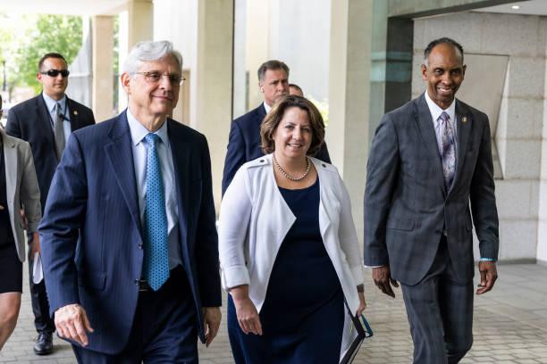 DC: Attorney General Garland Visits ATF Headquarters
