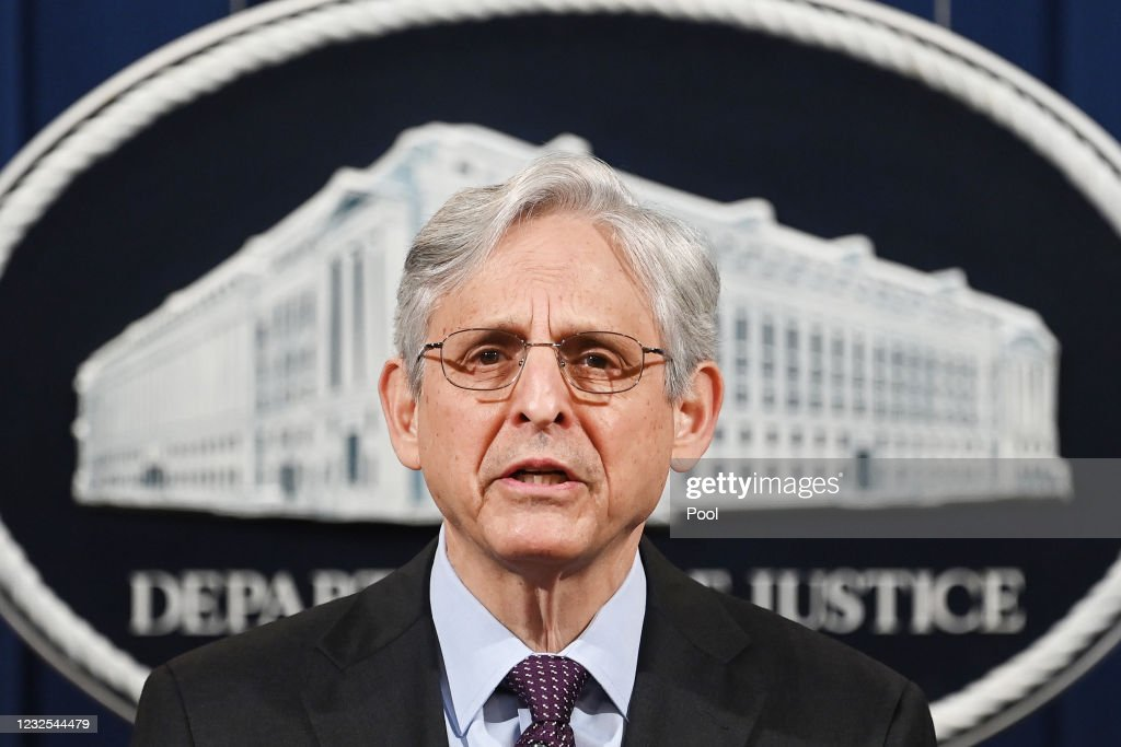 Attorney General Merrick Garland Announces Justice Department will begin Investigation Into The Practices of the Louisville Police Department : News Photo