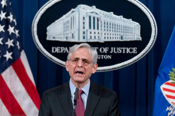 DC: Attorney General Merrick Garland Announcing Probe In Policing Tactics In Minneapolis