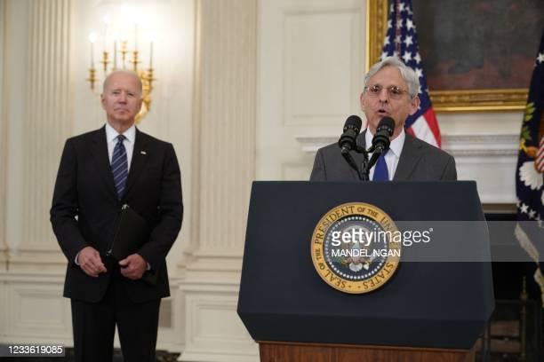 DC: President Biden And Attorney General Garland Deliver Remarks On Gun Crime Prevention