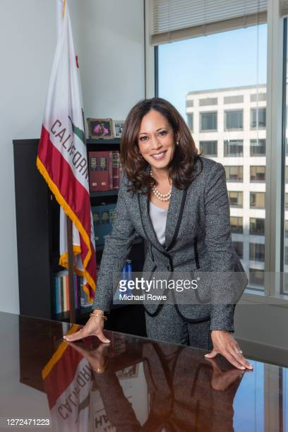 Attorney General of California Kamala Harris is photographed for Essence Magazine on October 20, 2015 in Los Angeles, California.