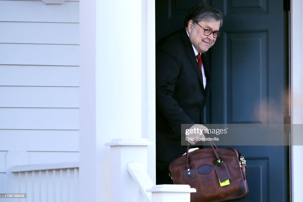 DC: Washington Reacts To Attorney General William Barr's Summary Of Mueller Report