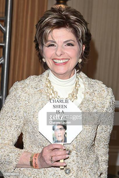 Attorney Gloria Allred arrives at the 21st Annual Night of 100 Stars Awards Gala at Beverly Hills Hotel on February 27, 2011 in Beverly Hills,...