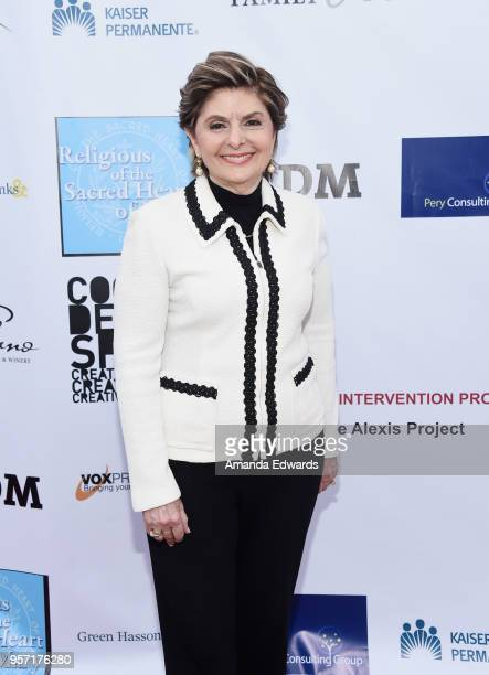 Attorney Gloria Allred arrives at the Coalition to Abolish Slavery and Trafficking's 20th Annual 'From Slavery To Freedom Gala' at City Market Social...