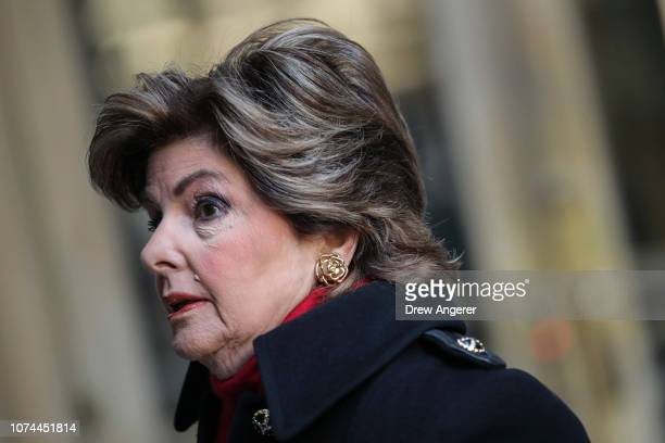 Attorney Gloria Allred arrives for a court hearing for Harvey Weinstein at New York Criminal Court, December 20, 2018 in New York City. Weinstein's...