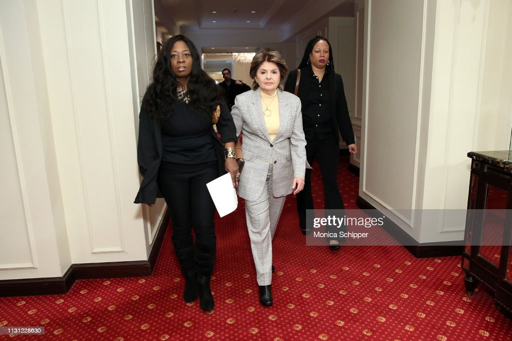 NY: Gloria Allred Holds Press Conference As Two New Accusers Of R. Kelly Misconduct Come Forward