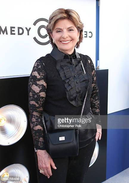 Attorney Gloria Allred attends The Comedy Central Roast of Justin Bieber at Sony Pictures Studios on March 14 2015 in Los Angeles California