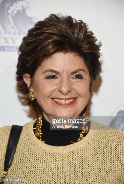 Attorney Gloria Allred attends the Los Angeles leg of Stephanie Miller's Sexy Liberal Blue Wave Tour at The Saban Theatre on November 3 2018 in...