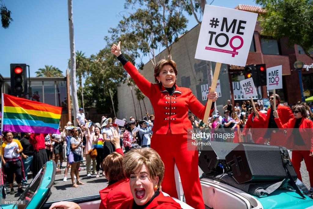 Gay Pride Parade In Hollywood : News Photo