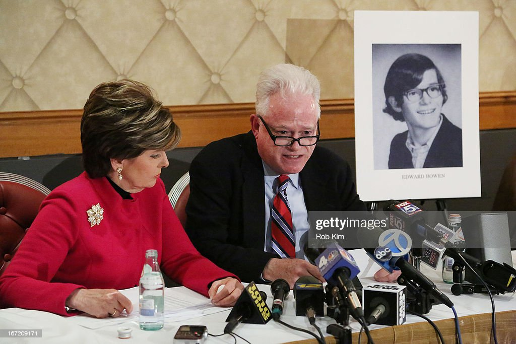 Horace Mann School Child Sexual Abuse Scandal Press Conference : News Photo