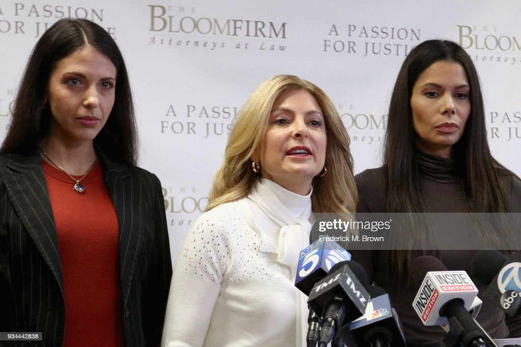 Lisa Bloom Holds Press Conference For 2 Victims Accusing Actor Steven Seagal Of Sexual Assault
