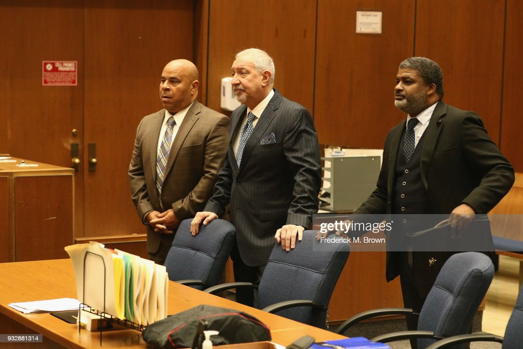 "Marion ""Suge"" Knight Attorneys' Matthew Fletcher And Thaddeus Culpepper Arraignment Hearing"