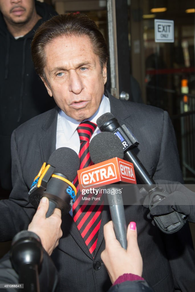 Attorney Mark Heller appears in court representing Dina Lohan after her arrest on September 12, 2013 for driving while intoxicated and speeding at Nassau County First District Court on November 21, 2013 in Hempstead, New York.