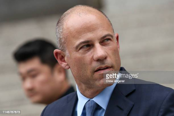 Attorney Michael Avenatti leaves federal court after being arraigned May 28 2019 in New York City Avenatti was arraigned on charges that he stole...