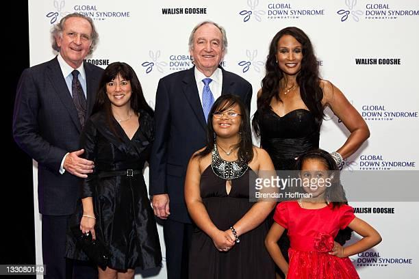 Attorney Norm Brownstein Michelle Sie Whitten executive director of the Global Down Syndrome Foundation Sen Tom Harkin Natalie Fuller Beverly Johnson...