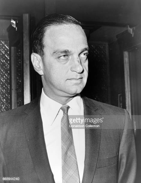 Attorney Roy M. Cohn poses for a portait in 1964.