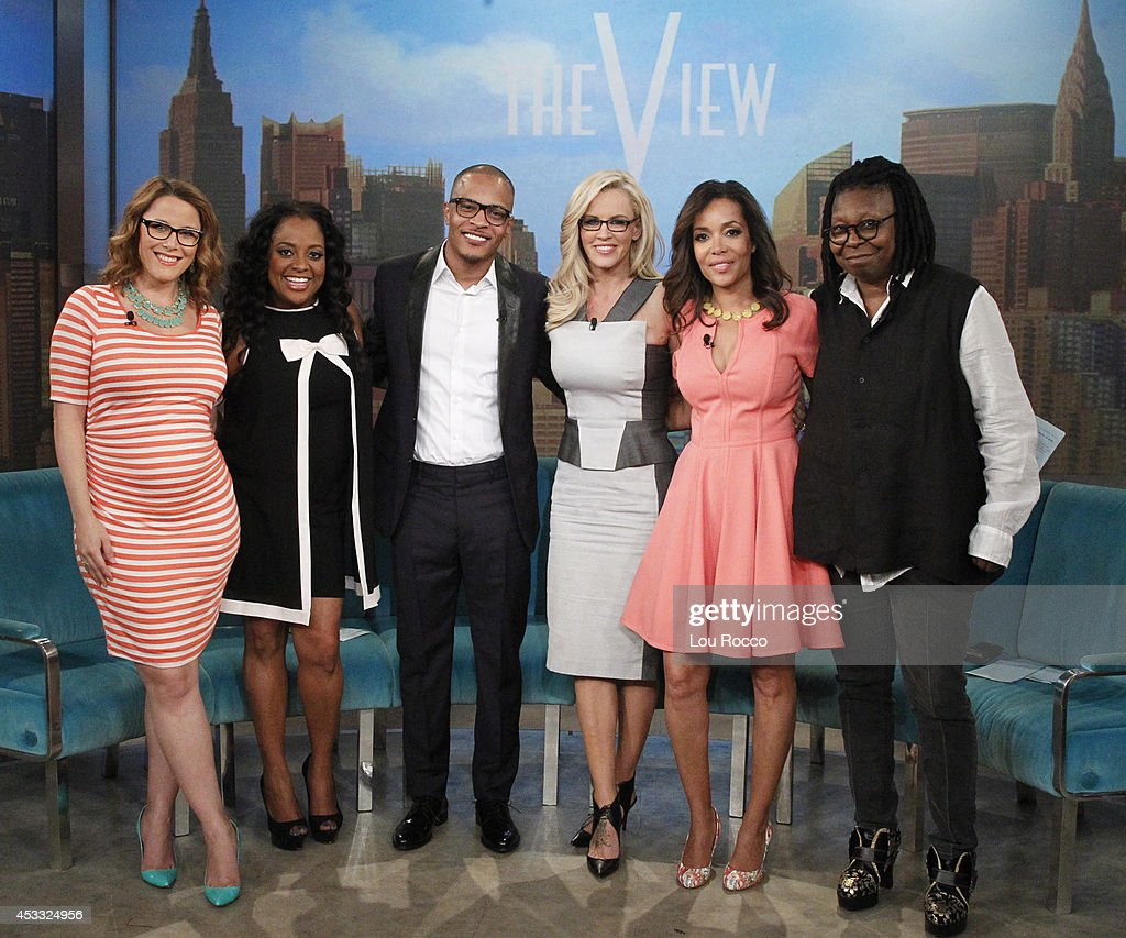 The View -- Attorney Sunny Hostin And S E  Cupp Guest Co-host  Tyra    News Photo