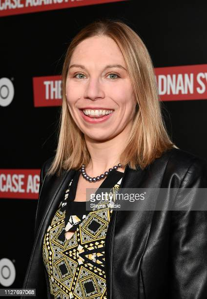 Attorney Susan Simpson attends NY premiere of HBO's The Case Against Adnan Syed at PURE NON FICTION on February 26 2019 in New York City