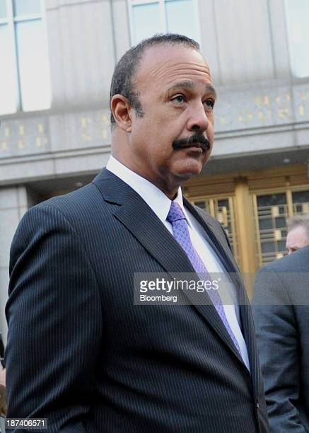 Attorney Ted Wells exits federal court in New York US on Friday Nov 8 2013 The US judge overseeing SAC Capital Advisors LP's guilty plea to...
