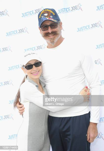 Attorney Vicki Roberts and Arthur Andelson attend the 11th Annual Justice Jog To Benefit Casa LA held on September 23 2018 in Century City California