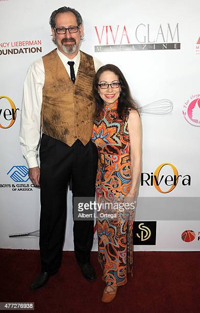 Attorney Vicki Roberts and husband Arthur Andelson arrive for the Viva Glam Issue Launch Party Hosted by cover girl Leah Remini held at Riviera 31 on...